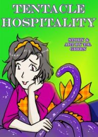 Cover A Date With A Tentacle Monster 3 – Tentacle Hospitality