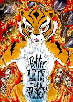 Cover Better Late Than Never 2 – The Conclusion