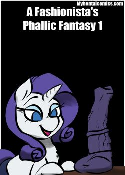 Cover A Fashionista's Phallic Fantasy 1
