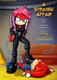 Cover A Strange Affair 1