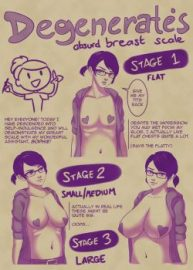 Cover Absurd Breast Scale