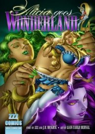 Cover Alicia Goes Wonderland 2