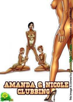 Cover Amanda & Nicole Clubbing