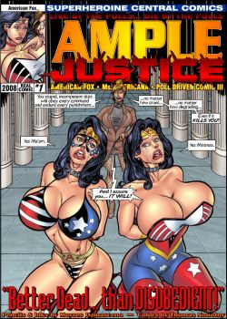 Cover Ample Justice 1 – Better Dead Than Disobedient