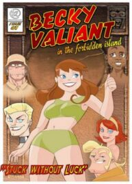 Cover Becky Valient 1 – Stuck Without Luck
